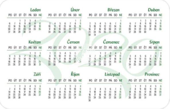 Kalendářík InfoCentrum - 2020