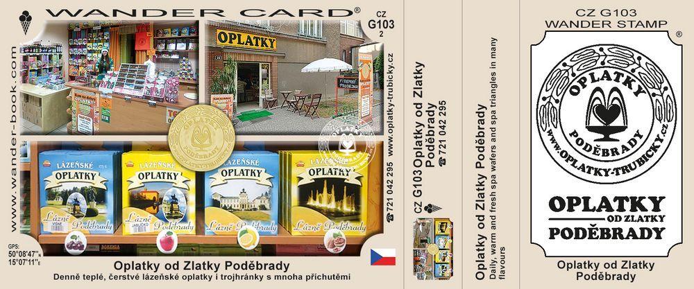 Oplatky Poděbrady - Oplatky od Zlatky, G-103_2