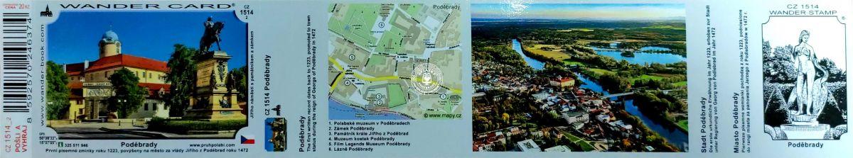 Město Poděbrady, CZ-1514 verze 2