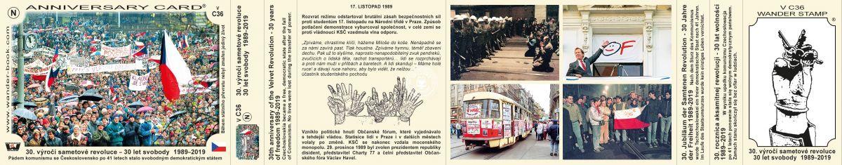 30 let výročí sametové revoluce, VC-36