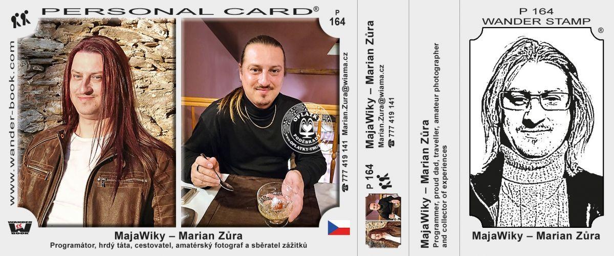 Marian Zůra - MajaWiky, P-164
