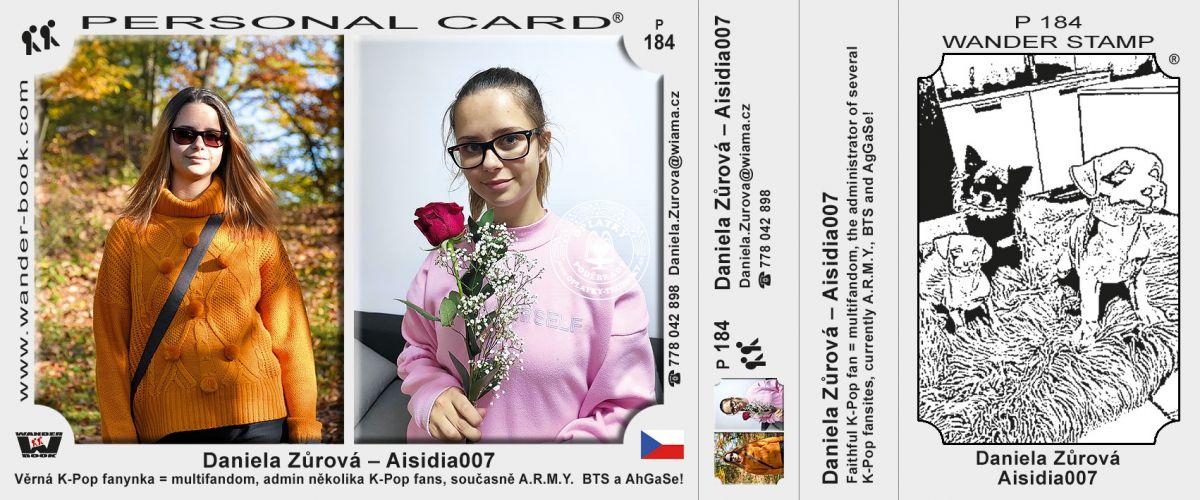 Daniela Zůrová - Aisidia007, P-184