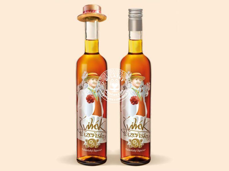 Švihák Lázeňský - medový likér