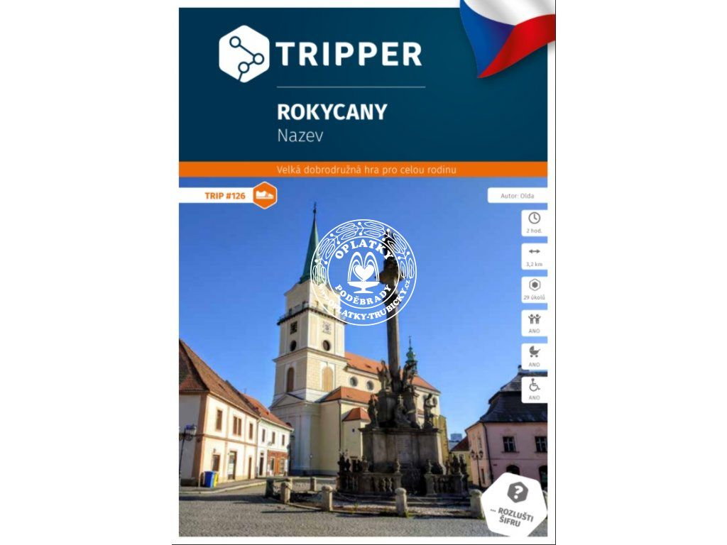 TRIPPER - Rokycany, #126, A-691