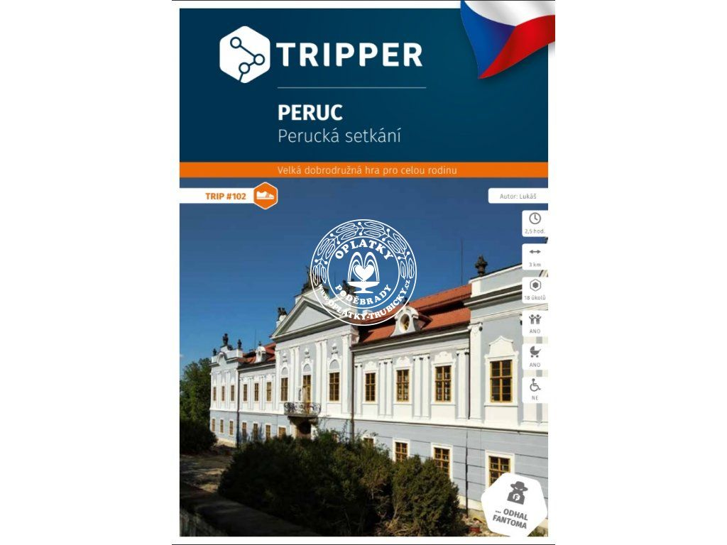 TRIPPER - Peruc, #102, A-688