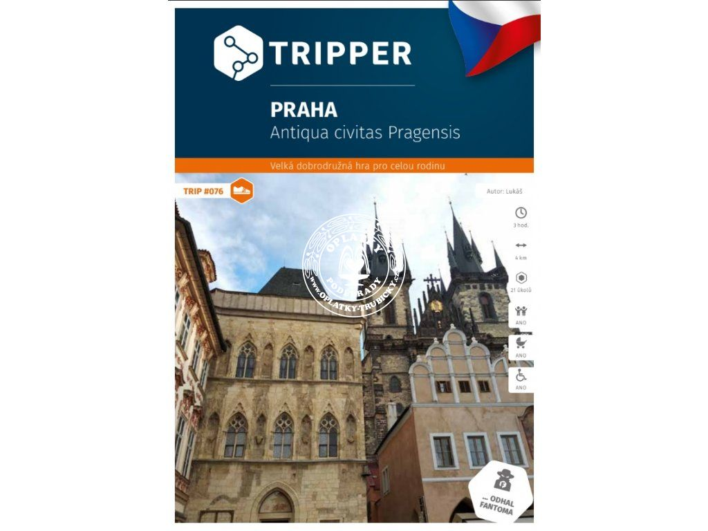 TRIPPER - Praha 1, #076, A-626