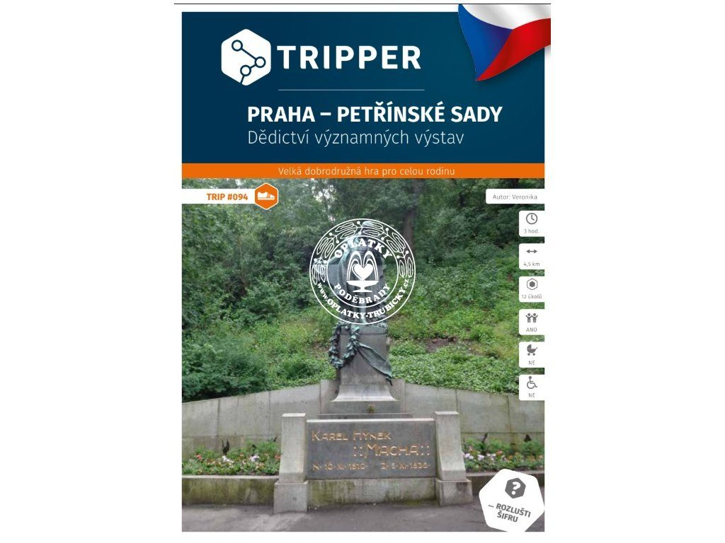 TRIPPER - Praha - Petřínské sady, #094, A-674