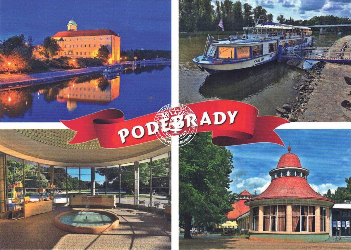 Pohled Poděbrady - 004
