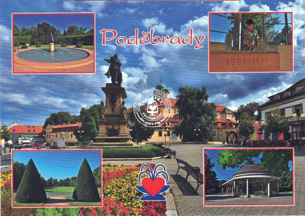Pohled Poděbrady - 005