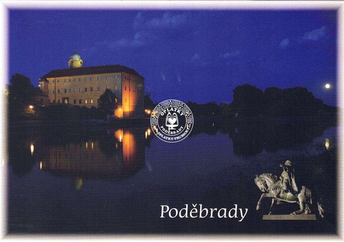 Pohled Poděbrady - 006