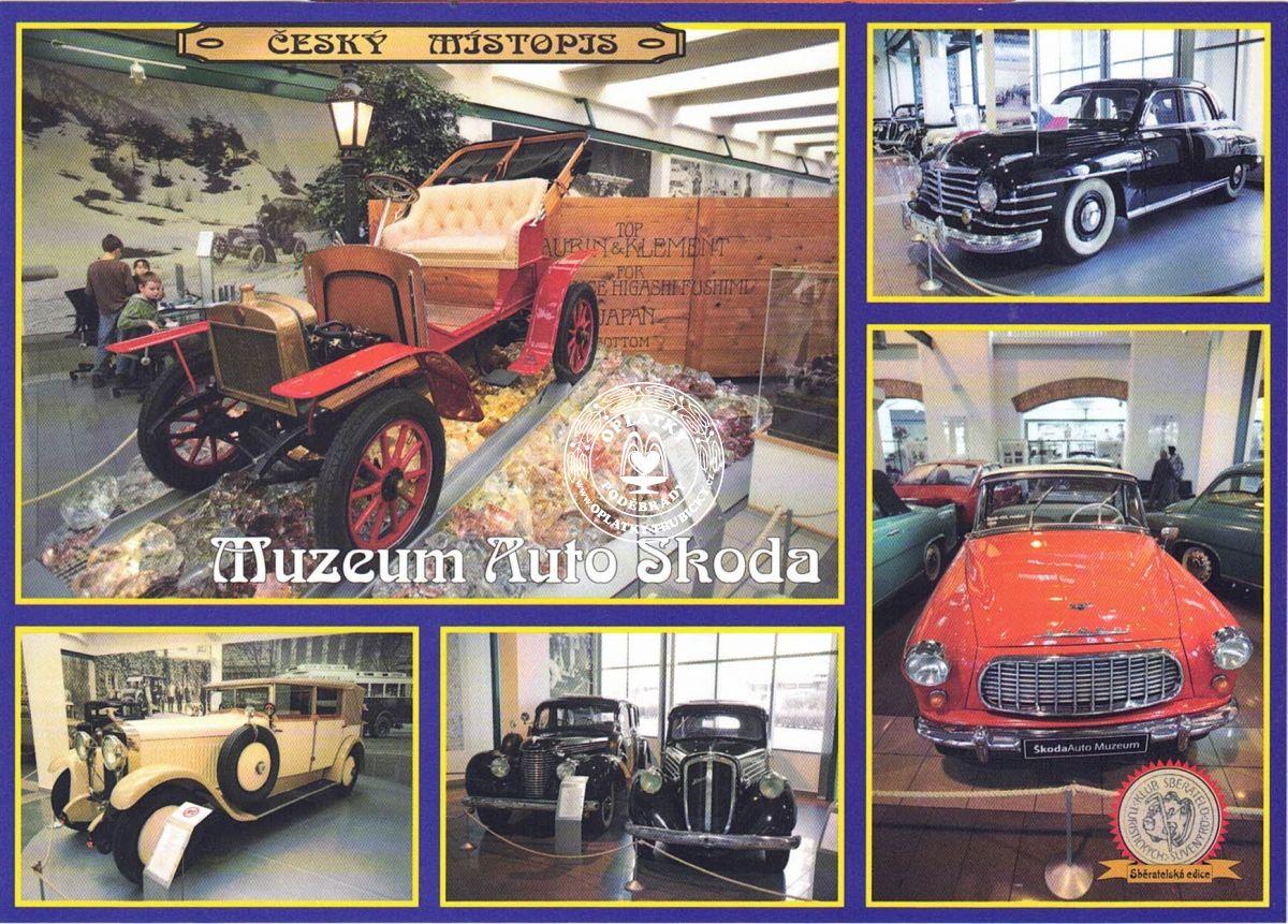 Pohled Muzeum Auto Škoda