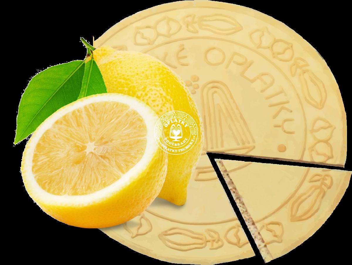 Lázeňské oplatky Citronové