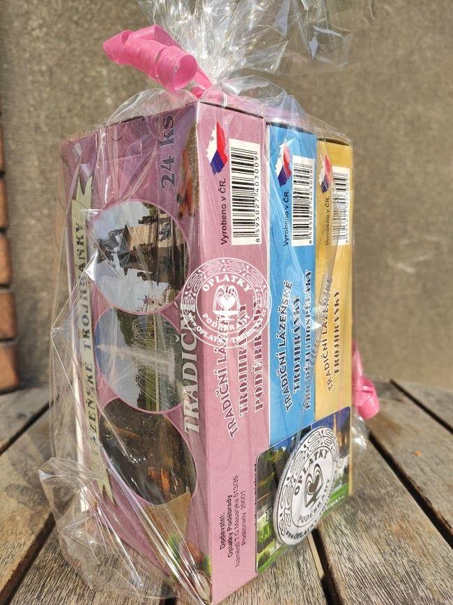 Lázeňské trojhránky - Dárkové balení SET