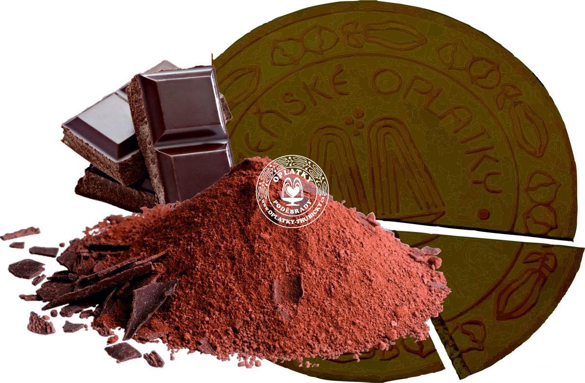 Lázeňské oplatky - Kakaové