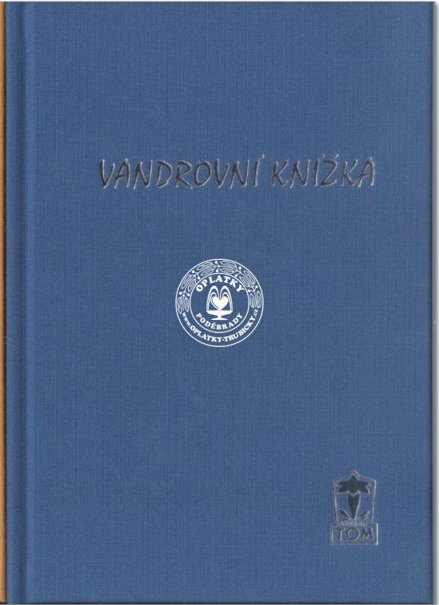 Vandrovní knížka, modrá
