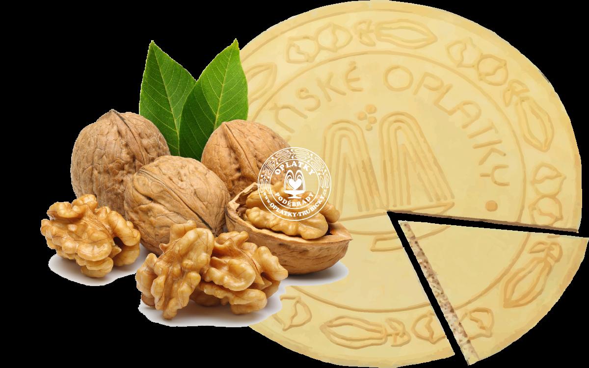 Lázeňské oplatky Vlašský ořech