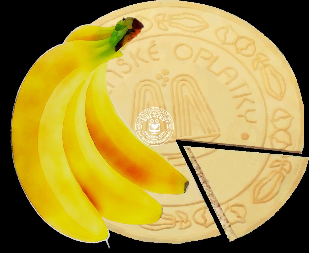 Lázeňské oplatky Banánové