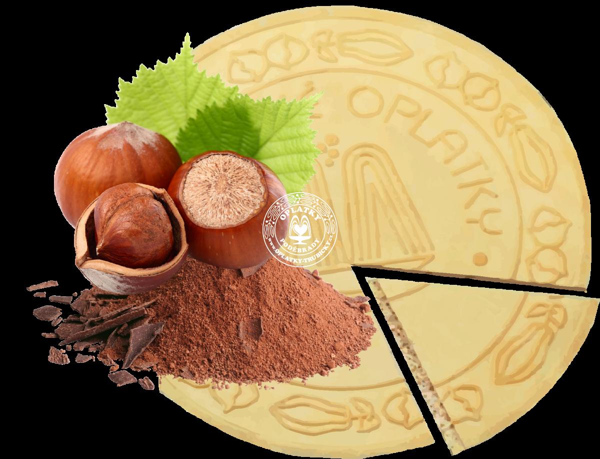 Lázeňské oplatky Oříško-Čokoládové