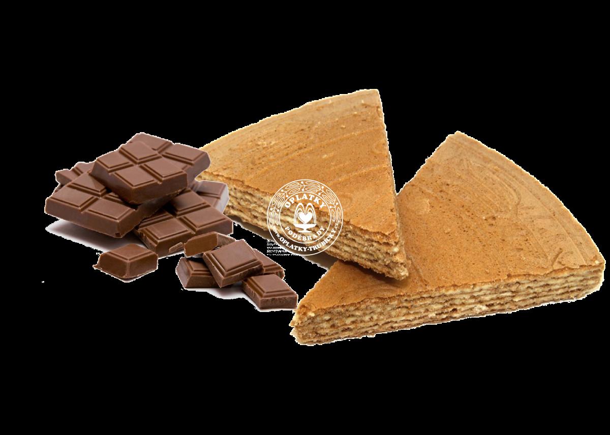 Lázeňské trojhránky - čokoládové