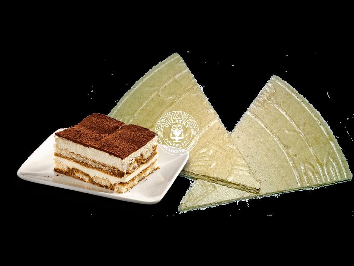 Lázeňské trojhránky Tiramisu