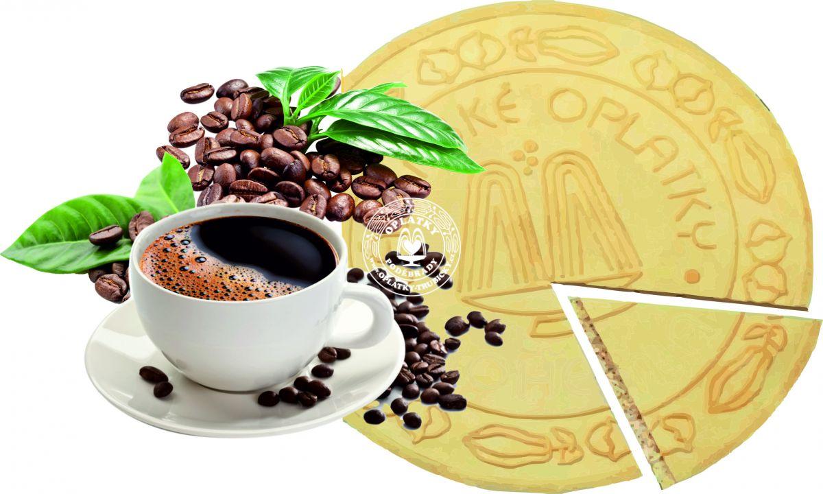 Lázeňské oplatky Alžírská káva