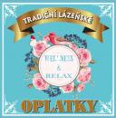Lázeňské oplatky WELLNESS & RELAX