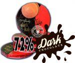 Lázeňské oplatky Dark kakao 72%