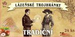 Lázeňské trojhránky - Tradiční, 24ks