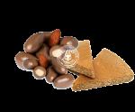 Lázeňské trojhránky Mandle v čokoládě