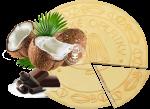 Coconut spa wafers