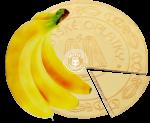 Banana spa wafers