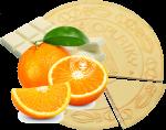 Spa wafers Orange